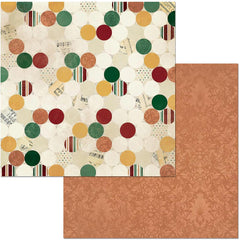 "Yuletide Carol Double-Sided Cardstock 12""X12"" - Traditional"
