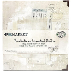 49 & Market - Foundations - Essential Binder - Vintage Cream