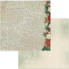 "Yuletide Carol Double-Sided Cardstock 12""X12"" - Wonderful"