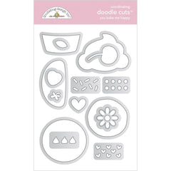 Made With Love - Doodlebug - Doodle Cuts Dies - You Bake Me Happy