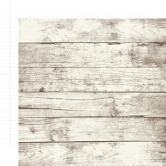 "Sn@p! Basics Color Vibe Double-Sided Cardstock 12""X12"" - ASPEN/WHITE NOTEBOOK"
