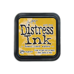 Fossilized Amber - Tim Holtz Distress Ink Pad (April)