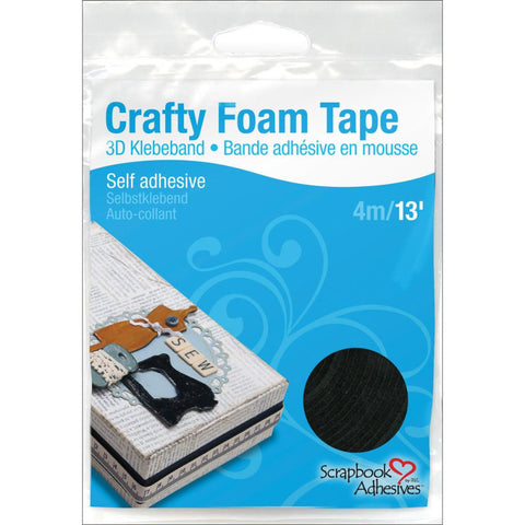 Scrapbook Adhesives Crafty Foam Tape Roll - Black