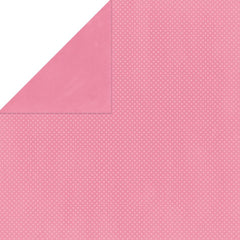 "BoBunny Double Dot Double-Sided Textured Cardstock 12""X12"" - Blush"
