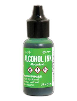 Tim Holtz Alcohol Ink .5oz - Botanical