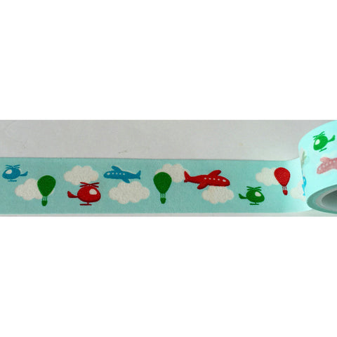 Cartoon Flight Washi