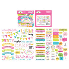 Hey Cupcake - Doodlebug - Odds & Ends Die-Cuts - Chit Chat