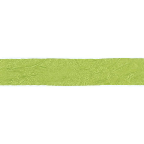 "Crepe Fabric Ribbon .75"" (1 yd) - Celery"