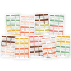 "Reset Girl Mini Stickers 4""X6"" 9/Pkg -"