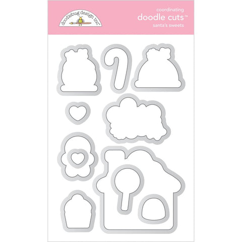 Christmas Magic - Doodlebug - Doodle Cuts Dies - Santa's Sweets