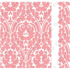 Cuttlebug A2 Embossing Folder/Border Set - Brocade By Anna Griffin