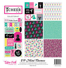 "Cheer - Echo Park Collection Kit 12""X12"""