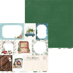 "The Four Seasons - Winter  - P13 - Double-Sided Cardstock 12""X12"" - #05"