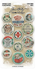 Tim Holtz - Paperie - Findings, Flair (Christmas 2020)
