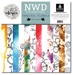 FANCIFUL FLORALS - NICOLE WRIGHT - Wild Whispers - 12X12 PAPER PACK