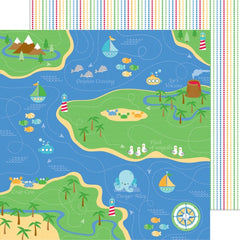 "Anchors Aweigh - Double-Sided Cardstock 12""X12""  - Fisherman's Cove"