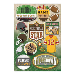 Football - Karen Foster - Cardstock Stickers