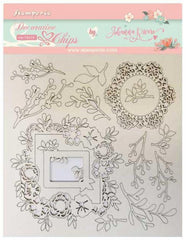 Gratitud  - Stamperia - Decorative Chips - Frames