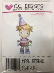 HB2U Birgitta Rubber Stamp - C.C. DESIGNS