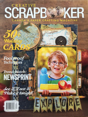 Creative Scrapbooker Magazine -Fall 2018