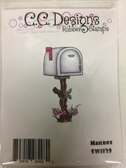 Mailbox Rubber Stamp - C.C. DESIGNS