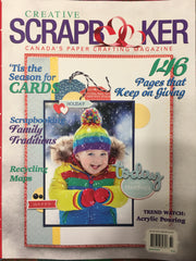 Creative Scrapbooker Magazine - Winter 2018