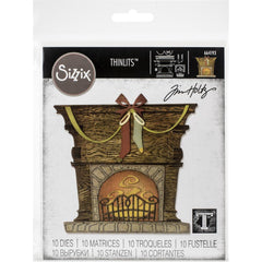 Sizzix Thinlits Dies By Tim Holtz - Fireside