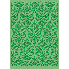 "Cuttlebug 5""X7"" Embossing Folder - Kassie's Brocade"