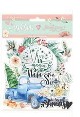Gratitud  - Stamperia - Die Cuts - Labels