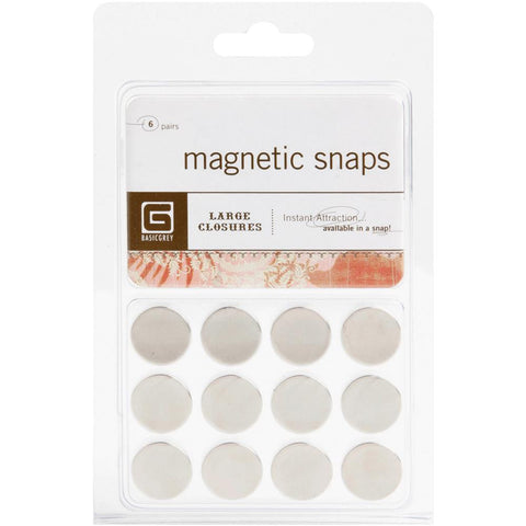 "Magnetic Discs .625"" 12/Pkg - Large"