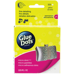 "Glue Dots - Micro Dots Roll - Clear - .125"" 325pcs"