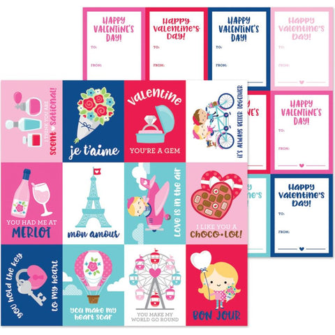 "French Kiss - Double-Sided Cardstock 12""X12"" - Mon Amour"