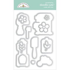 Made With Love - Doodlebug - Doodle Cuts Dies - Made With Love