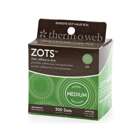 Zots - Memory Adhesive Dots - Medium (300)
