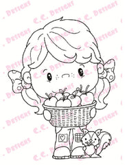 Pollycraft Pip Rubber Stamp