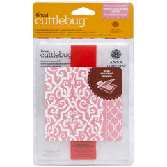 Cuttlebug A2 Embossing Folder/Border Set - Elaborate Quatrefoil By Anna Griffin