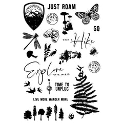 Simple Vintage Great Escape - Simple Stories - Photopolymer Clear Stamps