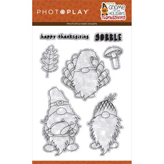 Gnome For Thanksgiving - Photo Play - Photopolymer Stamp