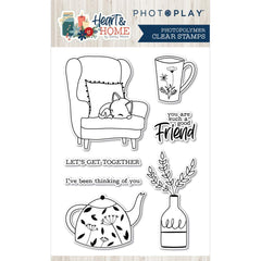 Heart & Home  - Photo Play - Photopolymer Stamp