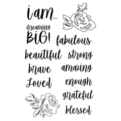 I Am (2020) - Simple Stories - Photopolymer Clear Stamps