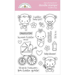 Bundle of Joy - Doodlebug - Clear Doodle Stamps - Bundle Of Joy