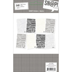 "Sn@p! Basics Color Vibe Stickers 4""X6"" Sheets 8/Pkg"