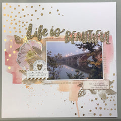 "Hello Summer - Simple Stories 6""x8"" Album Kit"