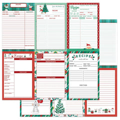 "Not A Creature Was Stirring - Photo Play - Double-Sided Cardstock 12""X12"" - Recipe Card Vertical"