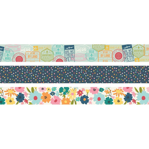 Going Places - Simple Stories - Washi Tape 3/Pkg