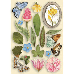 Sizzix Thinlits Dies By Tim Holtz 5/Pkg - Wildflower Stems #3