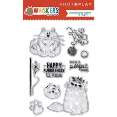 Whiskers - PhotoPlay Photopolymer Stamp