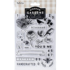 Gingham Gardens - My Mind's Eye - Clear Stamps