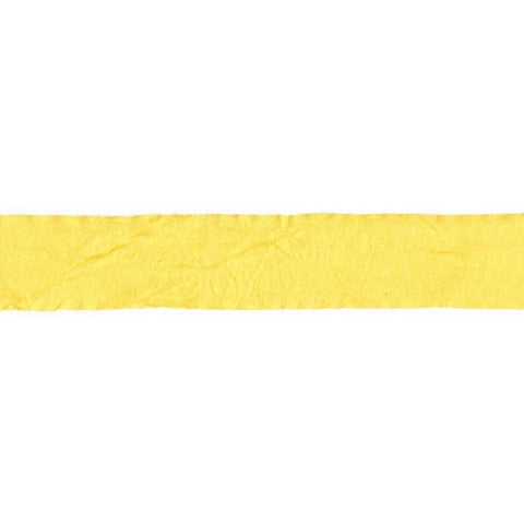 "Crepe Fabric Ribbon .75"" (1 yd) - Yellow"
