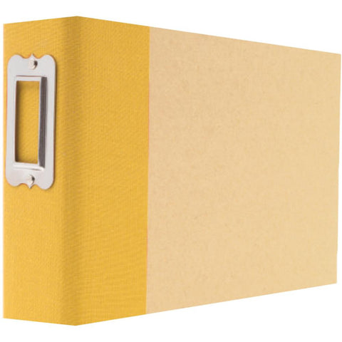 "Sn@p! Binder 4""X6"" - Yellow"
